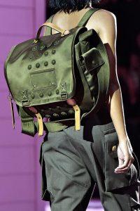 Marc Jacobs Green Backpack Bag - Spring 2015