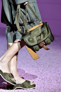 Marc Jacobs Green Small Messenger Bag - Spring 2015