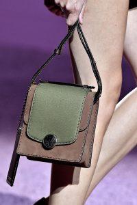 Marc Jacobs Khaki/Brown Mini Trouble Bag - Spring 2015