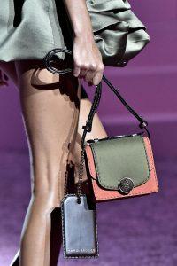 Marc Jacobs Khaki/Pink Mini Trouble Bag - Spring 2015