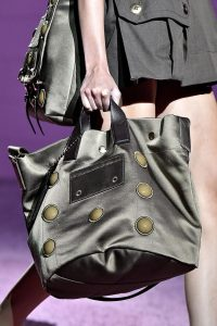 Marc Jacobs Grey Tote Bag - Spring 2015