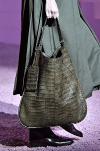 Marc Jacobs Khaki Alligator Hobo Bag - Spring 2015