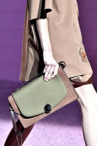 Marc Jacobs Khaki/Beige Trouble Bag - Spring 2015