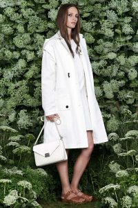 Mulberry White Woven Delphie Duo Bag 2 - Spring 2015