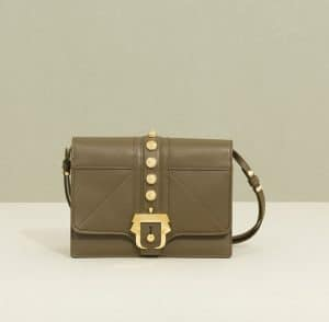 Paula Cademartori Green Stud Tatiana Shoulder Bag - Fall 2014