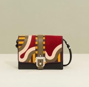 Paula Cademartori Red and Yellow Tatiana Shoulder Bag - Fall 2014