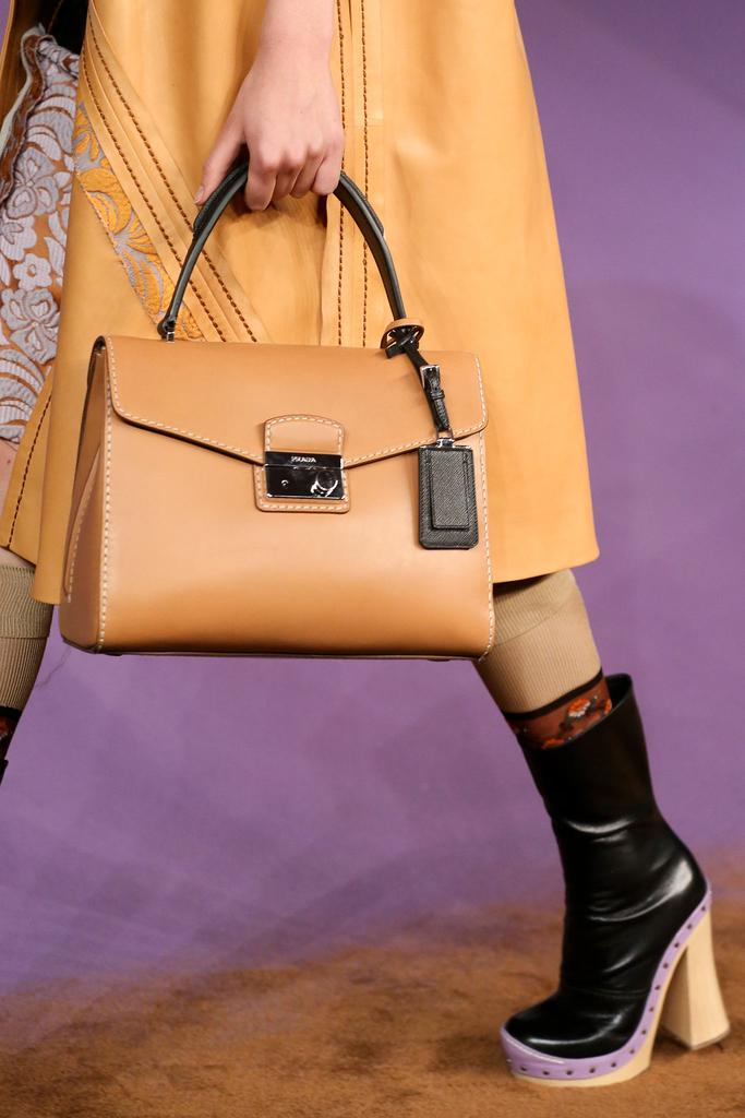 prada silver clutch - Prada Spring 2015 Runway Bag Collection featured Bowlers and Top ...