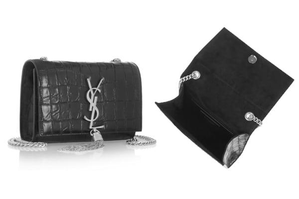 Louis Vuitton Louise Epi Bag verus Saint Laurent Monogram Tassel ...