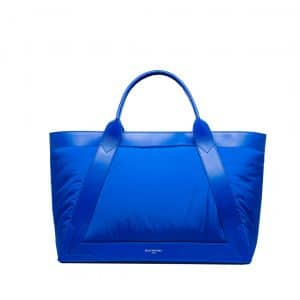 Balenciaga Electric Blue Nylon Navy Cabas M Bag