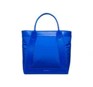 Balenciaga Electric Blue Nylon Navy Cabas S Bag