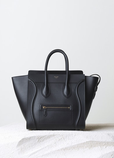 celine leather luggage tote - More Celine Mini Luggage Totes to choose from for Fall 2014 ...