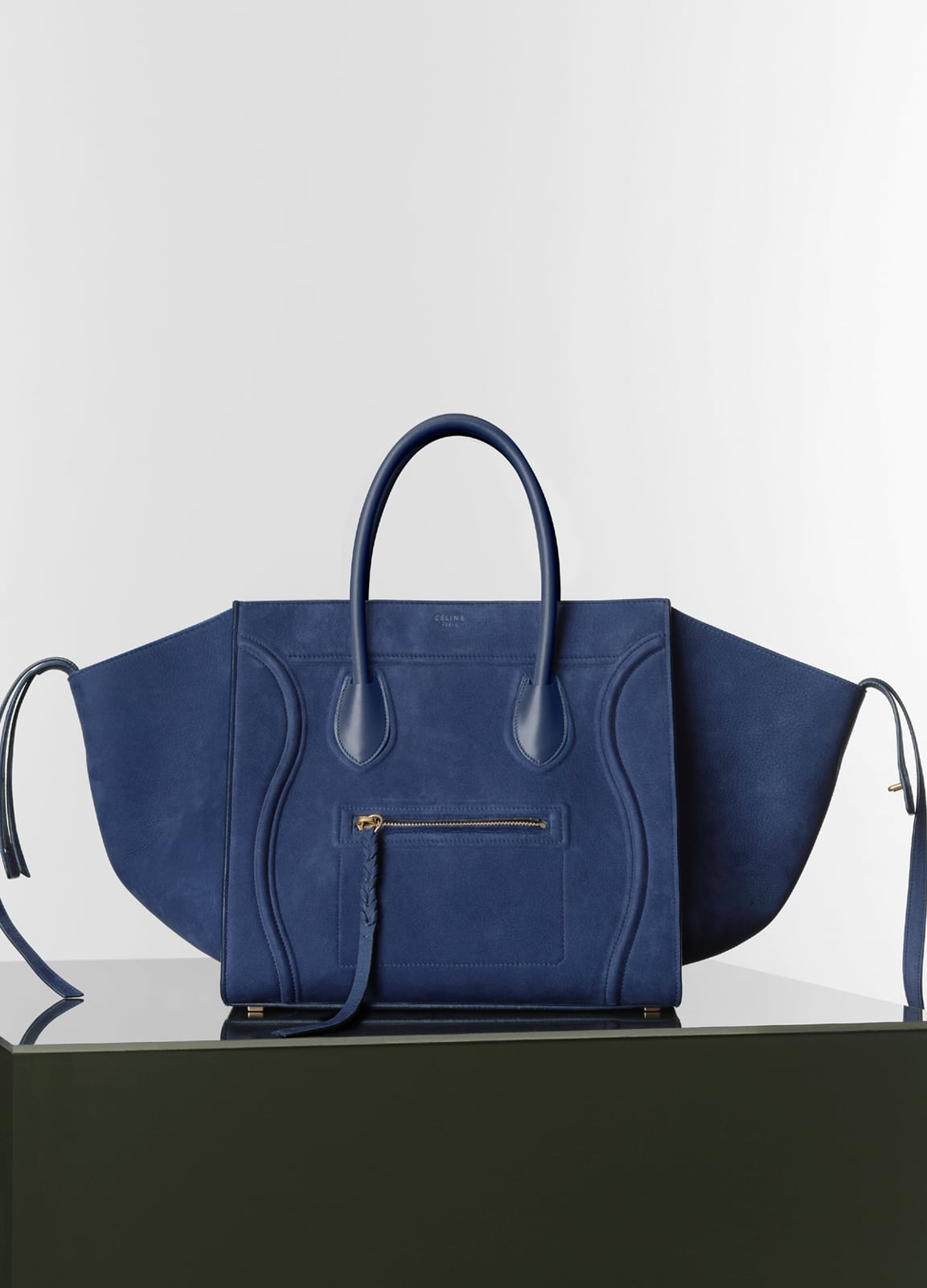 celine phantom bag suede