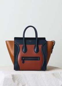 Celine Brick Satin Calfskin Mini Luggage Bag - Pre-Fall 2014