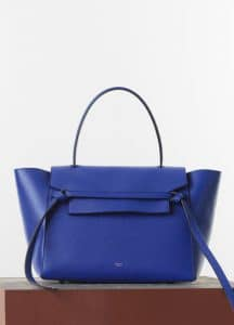 Celine Indigo Small Belt Bag - Spring 2015