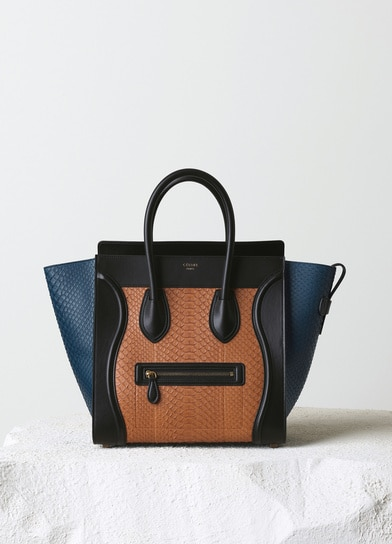 1303b18ef496 More Celine Mini Luggage Totes to choose from for Fall 2014 .