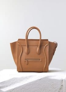 Celine Light Copper Smooth Calfskin Mini Luggage Bag - Pre-Fall 2014