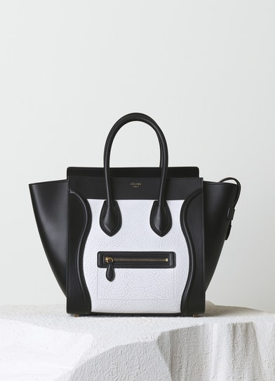 cheap celine replica handbags - More Celine Mini Luggage Totes to choose from for Fall 2014 ...
