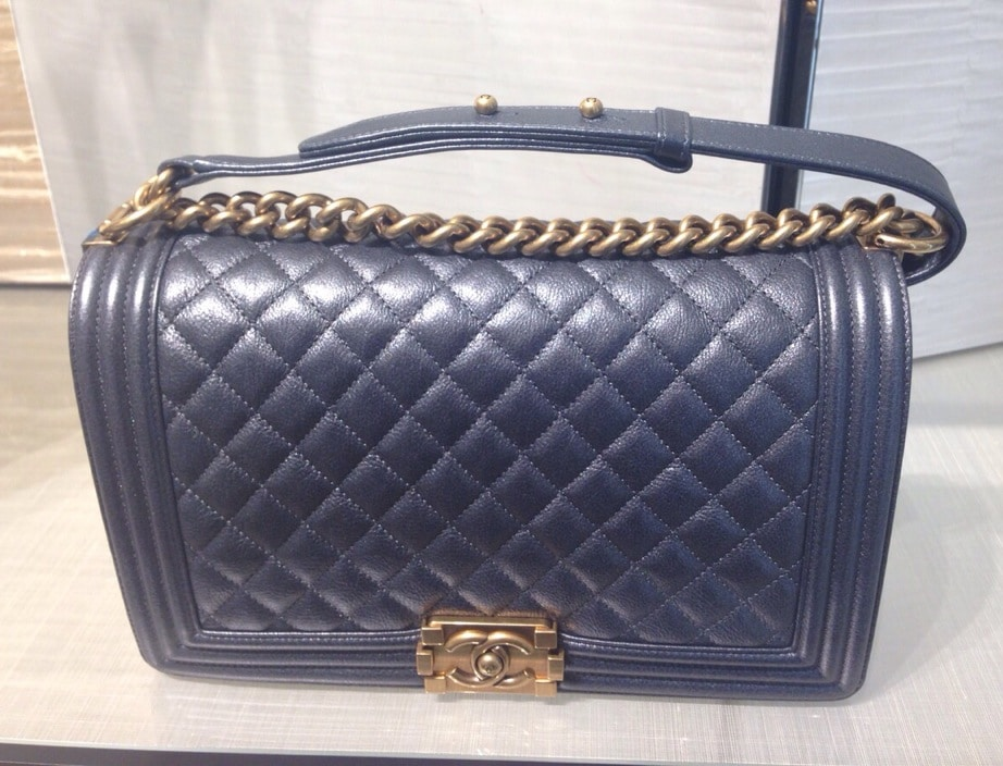 Chanel Boy Bag Price Increase starting from the Cruise 2015 ... d0b6e660e938
