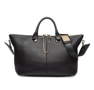 Chloe Black Baylee Medium Bag