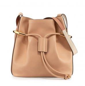 Chloe Blush Nude Emma Drawstring Bag