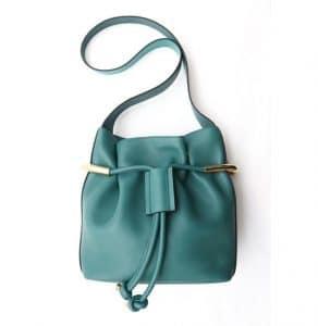 Chloe Green Emma Drawstring Bag