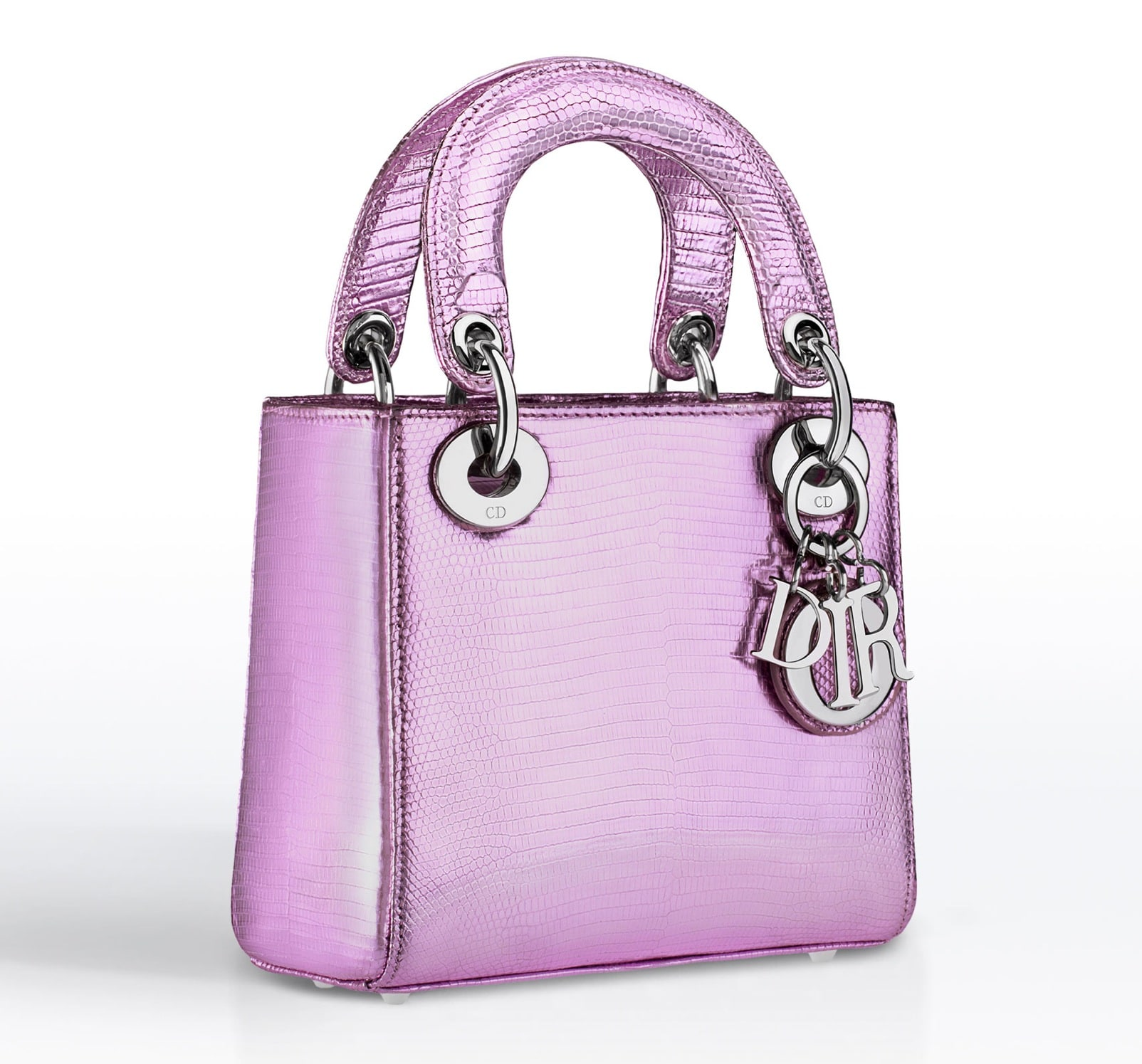 bd6dd729929b Dior Anemone Metallic Lizard Lady Dior Small Bag - Cruise 2015