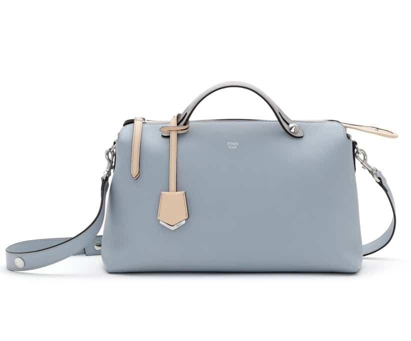 Fendi Light Blue Beige By The Way Bag