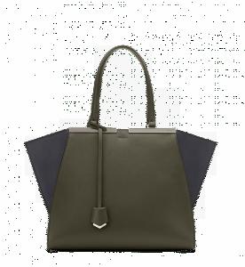 Fendi Moss Green/Navy 3Jours Bag