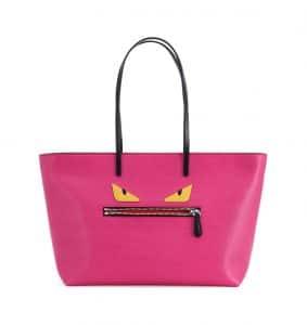 Fendi Pink Monster Tote Bag
