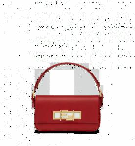 Fendi Red 3Baguette Bag
