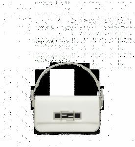 Fendi White 3Baguette Bag