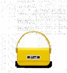 Fendi Yellow 3Baguette Bag