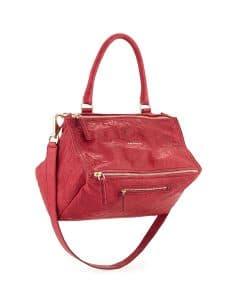 Givenchy Cherry Old Pepe Pandora Medium Bag - Cruise 2015