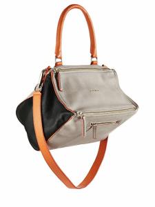 Givenchy Grey/Orange/Black Pandora Medium Bag - Cruise 2015