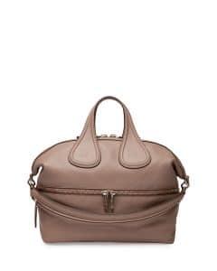 Givenchy Linen Nightingale Zip Medium Bag - Cruise 2015