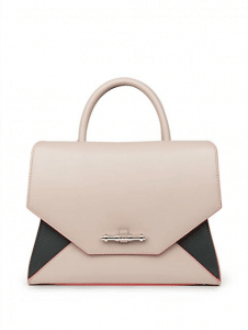 Givenchy Linen/Black Two-Tone Obsedia Tote Bag - Cruise 2015