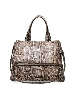 Givenchy Natural Python Pandora Pure Satchel Small Bag - Cruise 2015