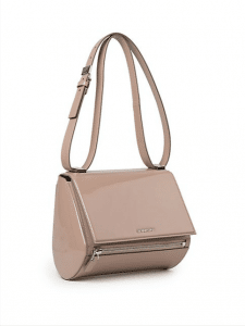 Givenchy Pale Pink Patent Pandora Box Mini Bag - Cruise 2015