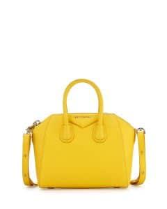 Givenchy Yellow Antigona Mini Bag - Cruise 2015