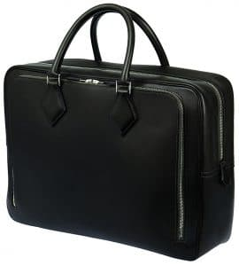 Hermes Black Plume 24H Bag