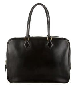 Hermes Black Plume 28cm Bag