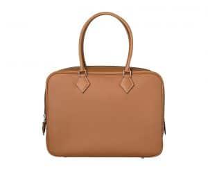 Hermes Gold Plume 32cm Bag