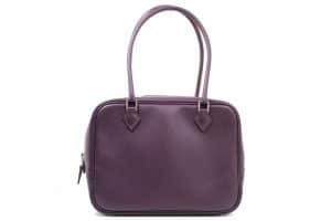 Hermes Raisin Plume 21cm Bag