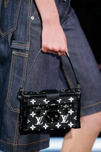Louis Vuitton Black Monogram Canvas Petite Malle Bag - Spring 2015