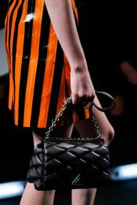 Louis Vuitton Black Twist Malletage Bag - Spring 2015