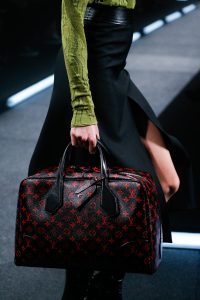 Louis Vuitton Black/Red Monogram Canvas Dora Bag - Spring 2015