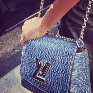Louis Vuitton Blue Epi Twist Bag 2 - Spring 2015