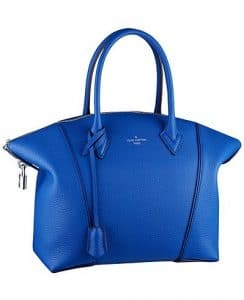 Louis Vuitton Blue Soft Lockit PM Bag