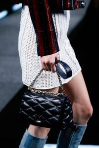 Louis Vuitton Blue Twist Malletage Bag - Spring 2015