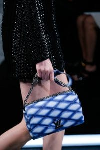 Louis Vuitton Blue/White Ombre Twist Malletage Bag - Spring 2015